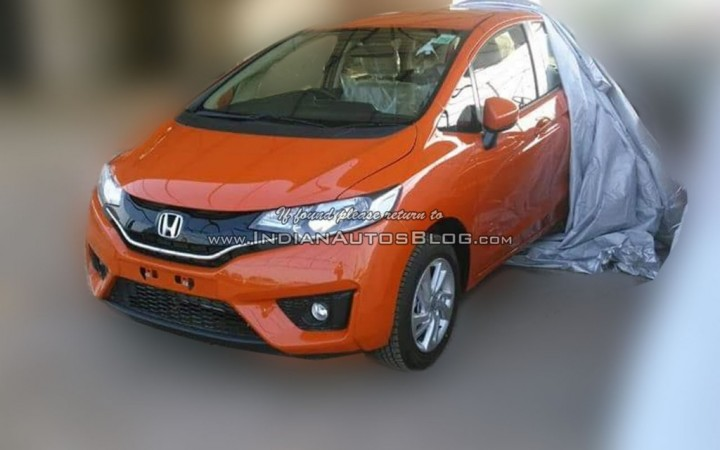 New Honda Jazz Top End Variant Spied