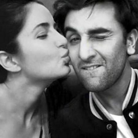 Katrina Kaif's Picture of Kissing Ranbir Kapoor is Fake