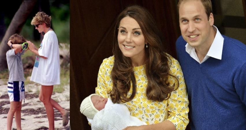 Kate Middelton, Princess Diana and prince Williams