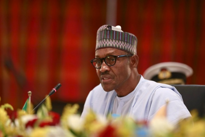 Nigerian president Buhari heads for London after meeting Chibok girls