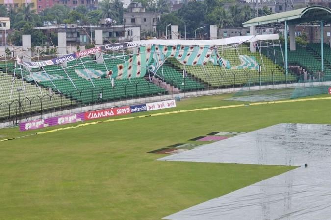 India Bangladesh Fatullah Ground Rain