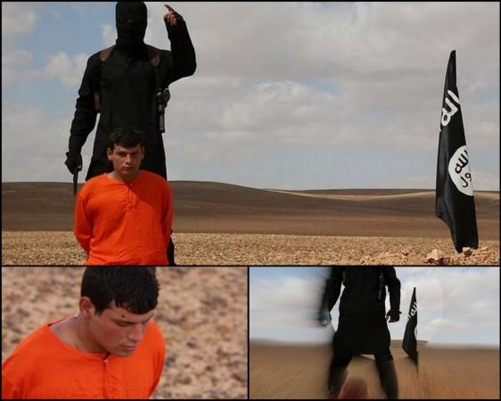 Isis beheads Jaish al Islam fighter in Qalamoun.