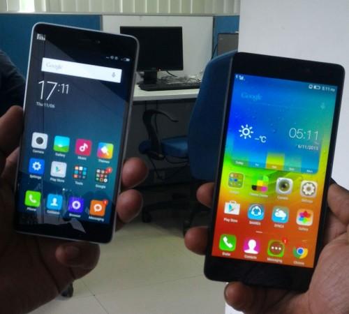 Xiaomi Mi 4i vs Lenovo A7000 Review