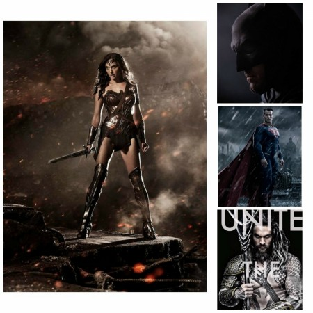 Wonder Woman, Batman, Superman and Aquaman