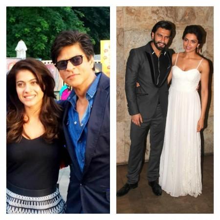 Kajol, Shah Rukh Khan, Ranveer Singh, Deepika Padukone