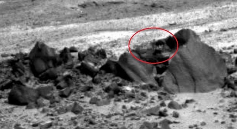 Photo of Mars taken by NASA'a Rover
