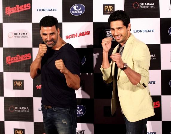 'Brothers': Akshay Kumar and Sidharth Malhotra