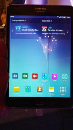 Samsung Galaxy Tab A- Front View