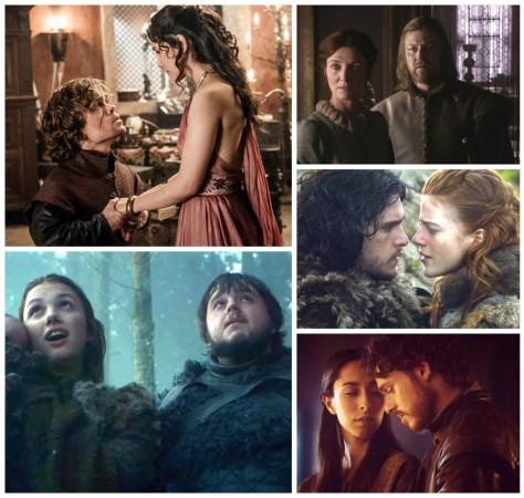 Vote for the best couple on 'Game of Thrones'