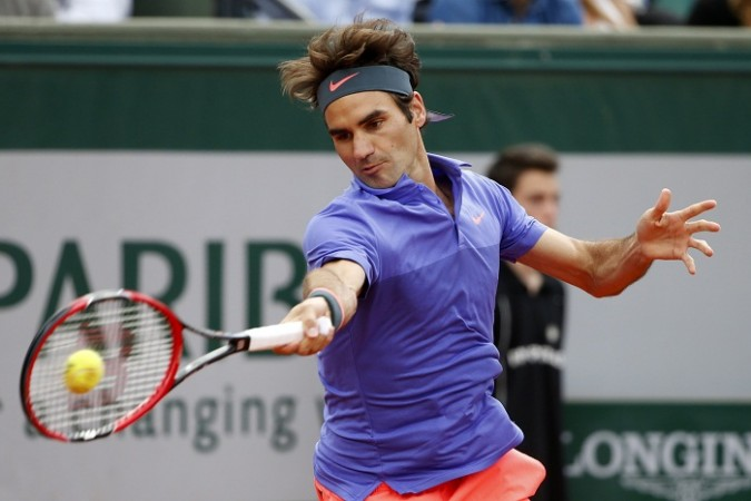 Roger Federer French Open 2015
