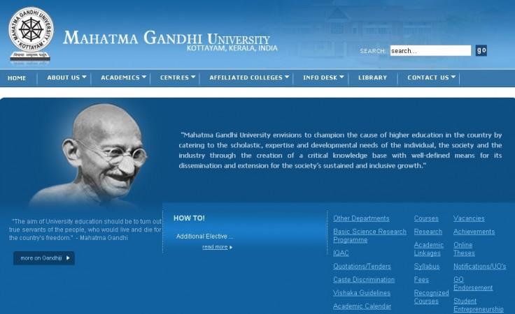 MG university, Kerala