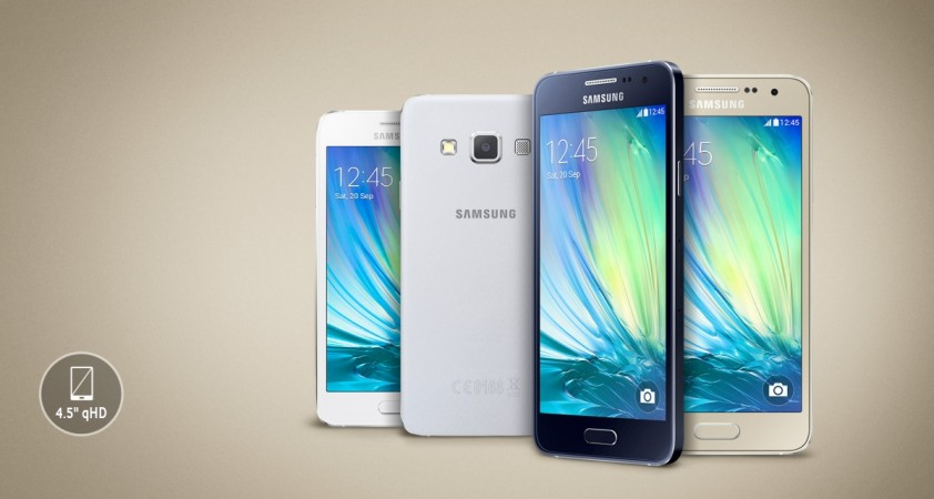 Samsung Galaxy A3 Price Cut In India: Massive Discount Makes It Samsung's Cheapest Metallic Smartphone