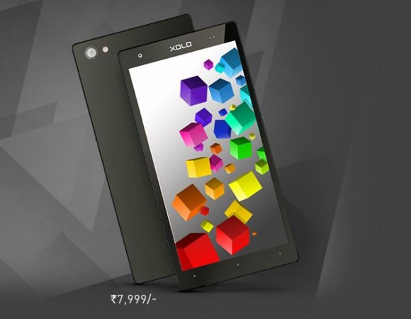 Xolo Cube 5.0 with Quad-core CPU Launched in India; Price, Specifications