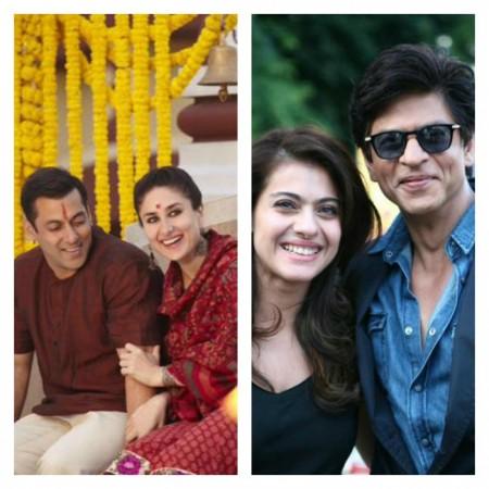 Salman –Kareena Or Shah Rukh –Kajol – Which is Best On-screen Couple?