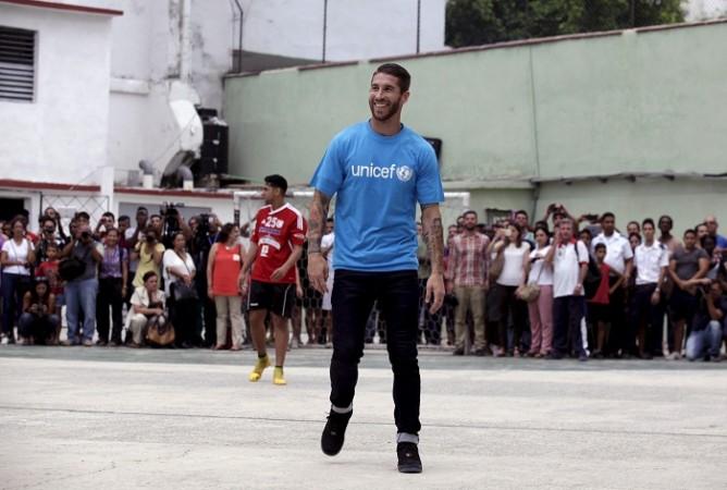 Sergio Ramos Real Madrid UNICEF