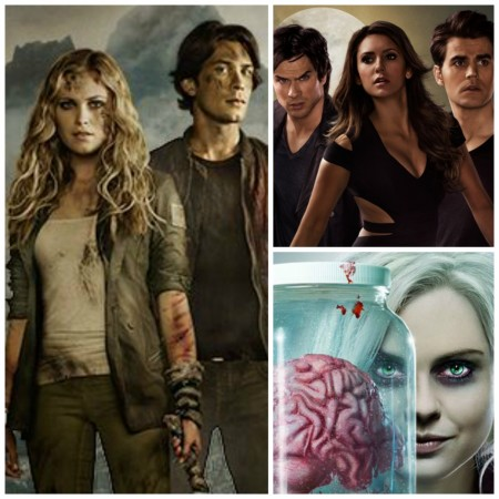 'The 100', 'The Vampire Diaries' and 'iZombie'