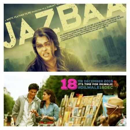 Aishwarya Rai in 'Jazbaa' Or Kajol in 'Dilwale' ?