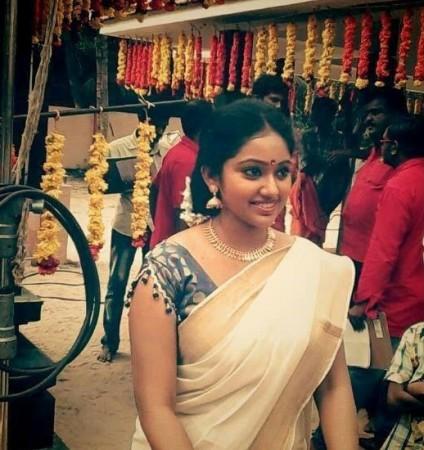Meghana aka Amrutha of 'Chandanamazha' Serial