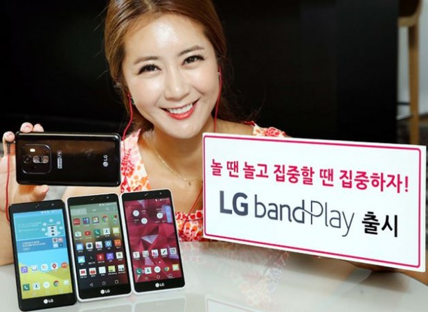 LG Launches Band Play with Laser Auto-Focus Camera; Price, Specifications