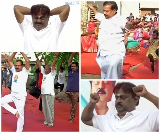 International Yoga Day Funny Moments