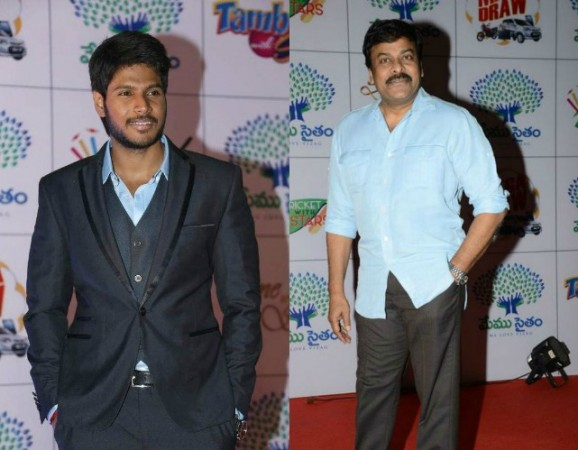 Chiranjeevi and Sundeep Kishan