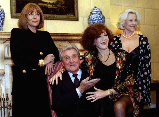 Patrick Macnee with 'The Avengers' co-stars
