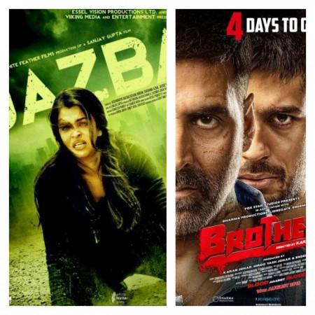 Will Trailer of Aishwarya's 'Jazbaa' Overshadow Akshay-Sidharth Starrer 'Brothers' Release?