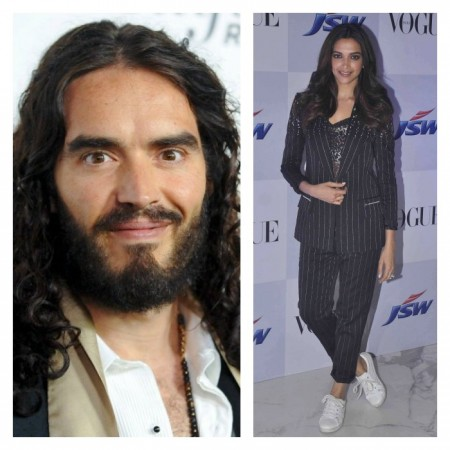Russell Brand Wants To 'Fall In Love' And 'Marry' Bollywood Actress Deepika Padukone