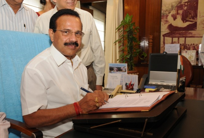 Union Minister Sadananda Gowda
