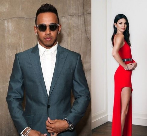 Lewis Hamilton and Kendall Jenner spark dating rumours