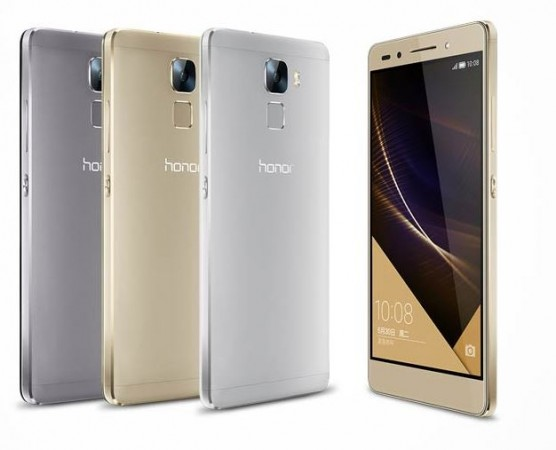 Metal-Clad Huawei Honor 7 with Finger-print Sensor, Kirin Octa-Core SoC Launched in China; Price, Specifications