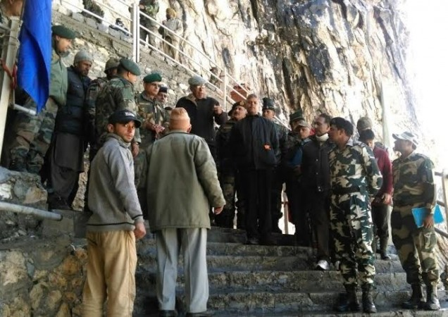 Marginal dip in the number of pilgrims visiting Amarnath
