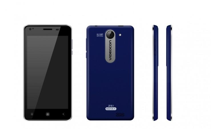 Videocon Launches Budget Smartphone Z51 Nova  in India