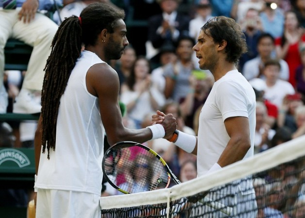 Dustin Brown Rafael Nadal Wimbledon 2015