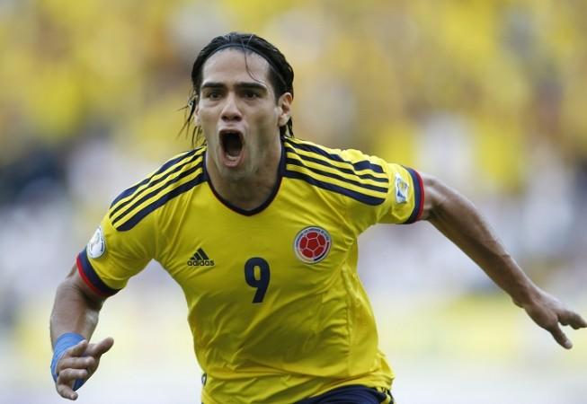 Radamel Falcao, Colombia vs Brazil, World Cup