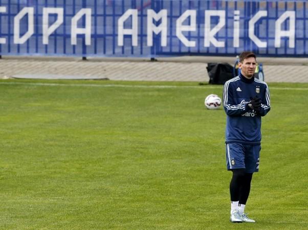 Lionel Messi Argentina Copa America 2015