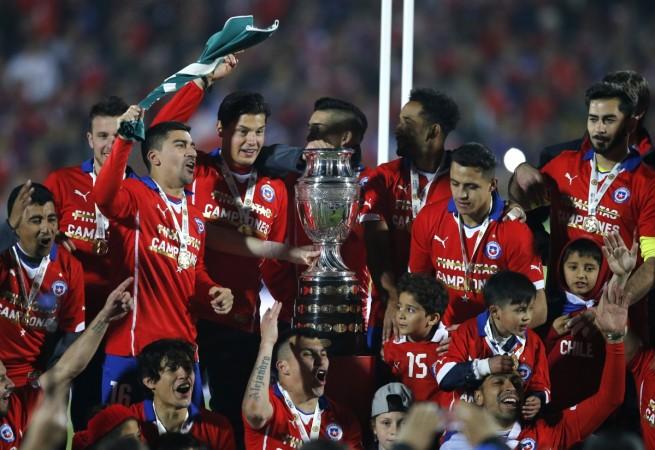 Chile Copa America 2015 winners
