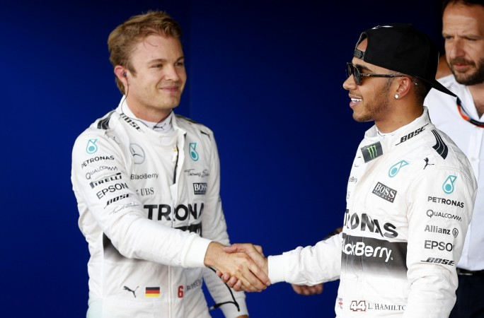 Hamilton - Rosberg