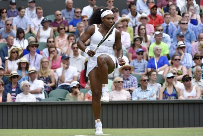 Serena Williams Wimbledon 2015 Venus Williams