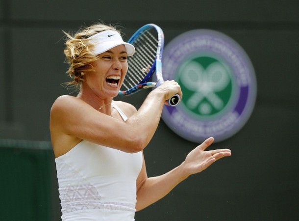 Maria Sharapova Wimbledon 2015 Fourth Round