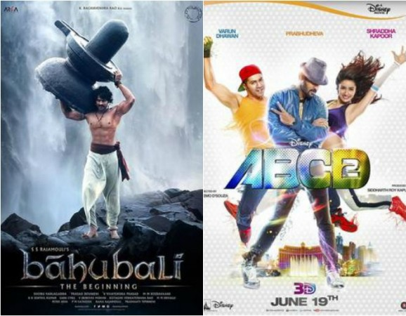 Baahubali The Beginning and ABCD 2