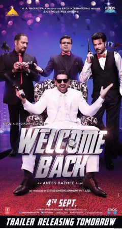 'Welcome Back' Poster