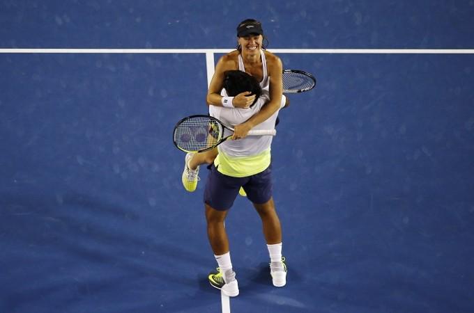 Martina Hingis Leander Paes Australian Open 2015
