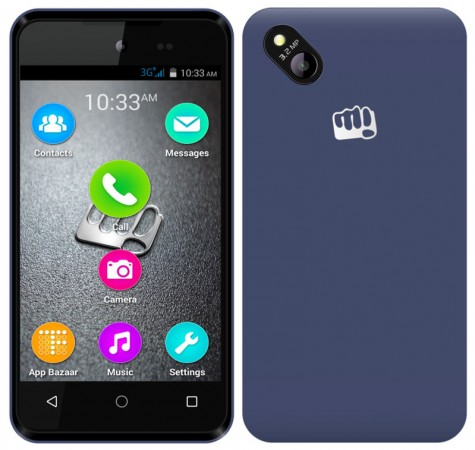 Micromax launches busget phone Bolt D303 in India