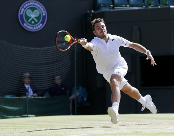 Stanislas Wawrinka Wimbledon 2015