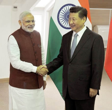 Modi meets Xi Jinping