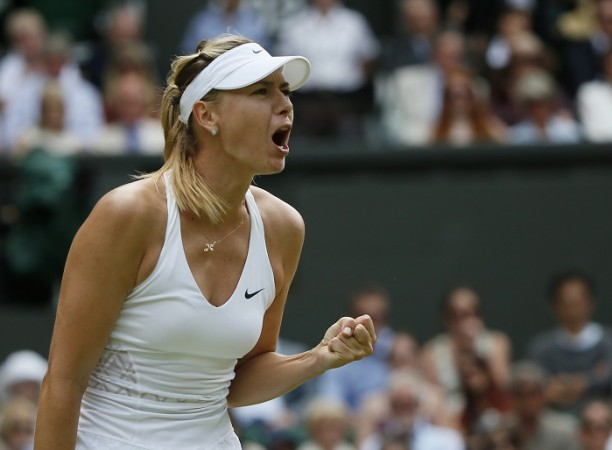 Maria Sharapova Wimbledon 2015