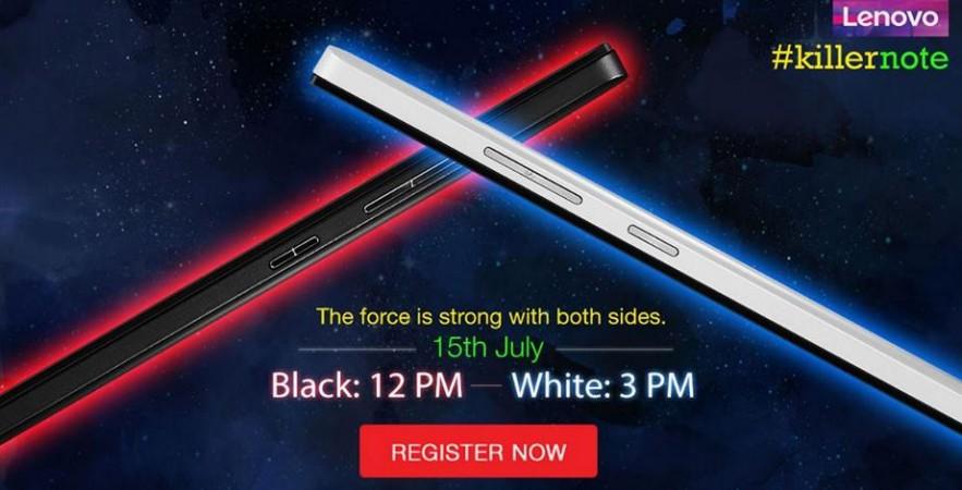 Flipkart to Host Two Separate Flash Sales for Lenovo K3 Note White, Black Variants on 15 July