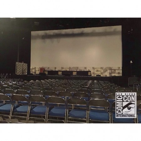 Hall H completely set for comic con 2015