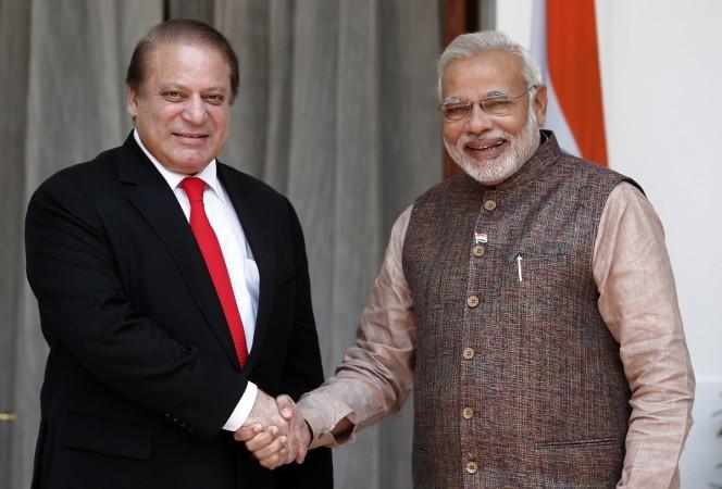 Modi meets Sharif